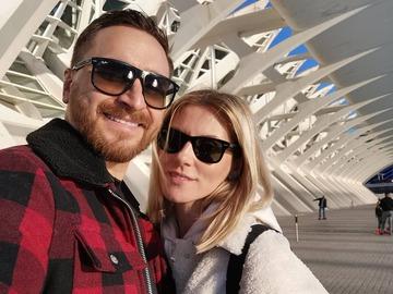 Олег Собчук з дружиною Марією