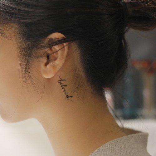 50 татуировок с надписями, за которые не будет стыдно