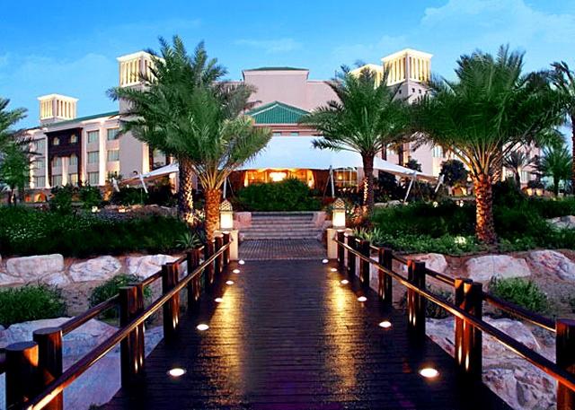 Отели, в которых турист обязан провести ночь: отель Desert Islands