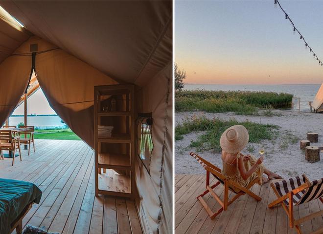 отдых в палатке