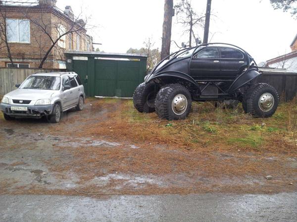 Дорожный монстр для суровой русской зимы