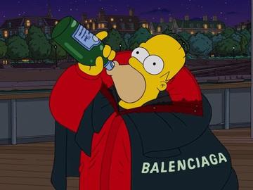 """Balenciaga в """"Симпсонах"""""""