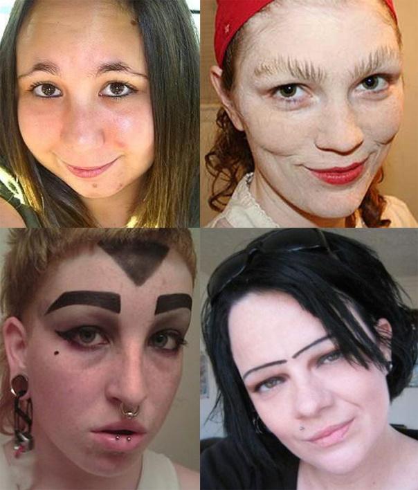 Нереально офигенные девичьи брови