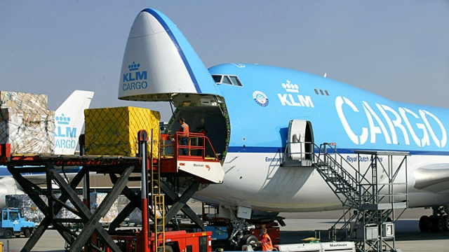 Потеря багажа в аеропорту: KLM