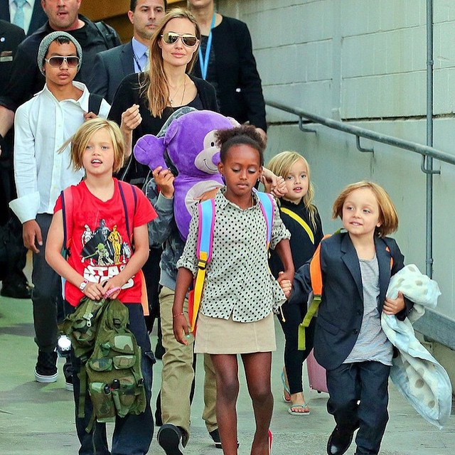 Родина Джолі і Пітта