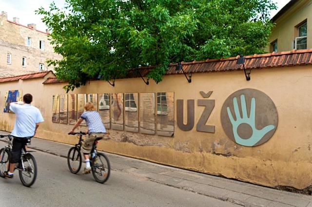 Цікаві місця Вільнюса: Район Ужупіс