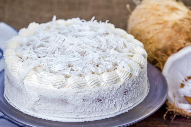Торт Рафаелло з маскарпоне