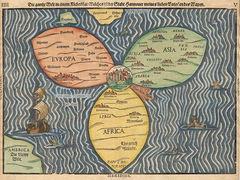 Стародавні карти світу