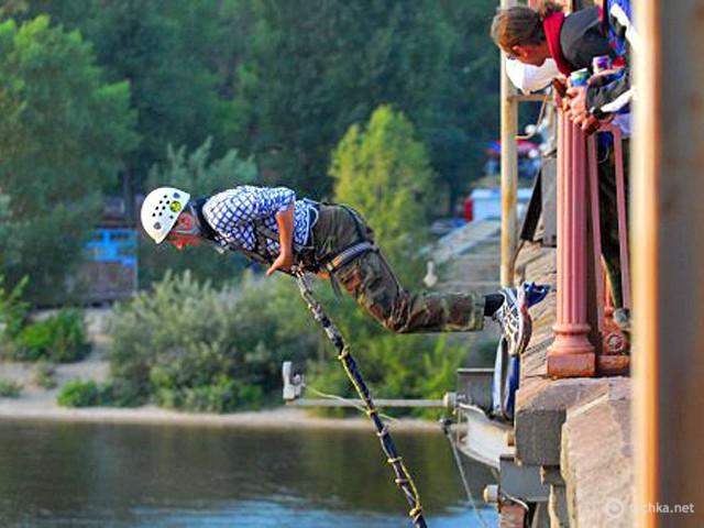 Экстрим в Украине: роупджампинг и банджи-джампинг