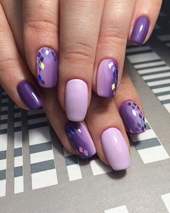 Ультрафиолет маникюр