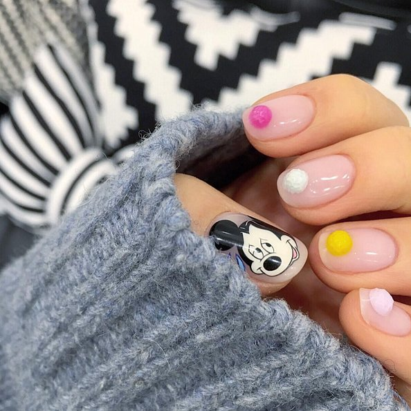 Последняя мода на ногти
