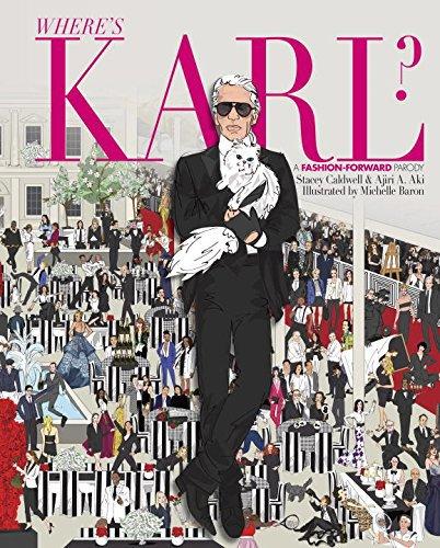 where's Karl - книга про лагерфельда