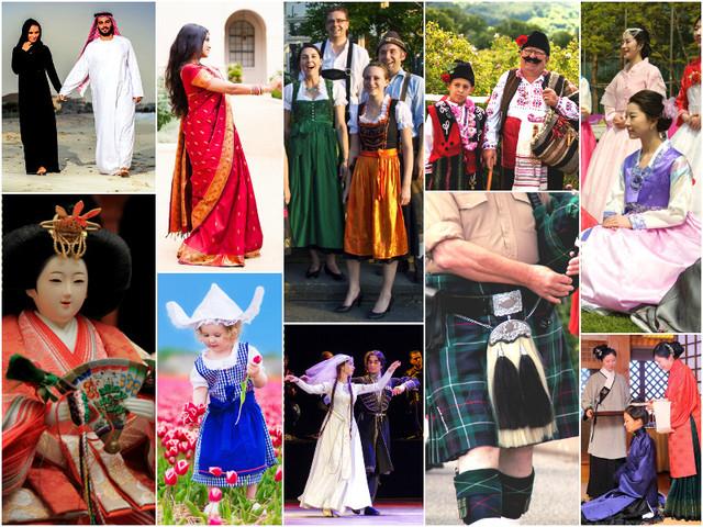 Национальные костюмы народов мира