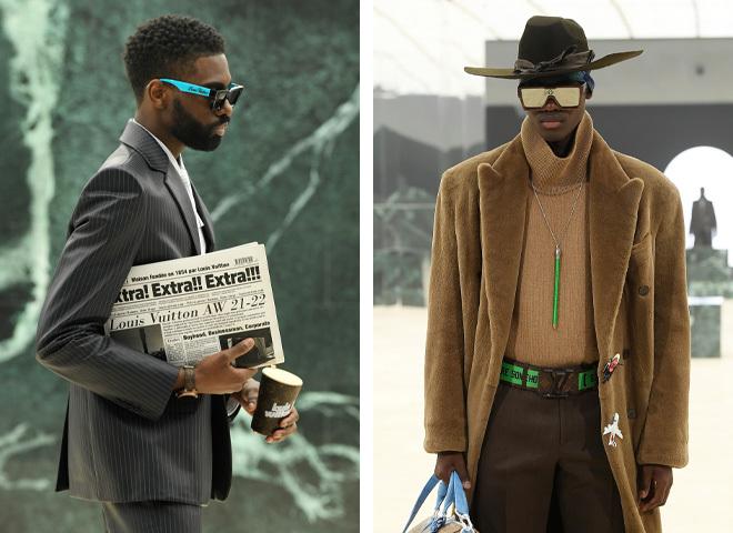 Неделя мужской моды в Париже 2021: показ коллекции Louis Vuitton