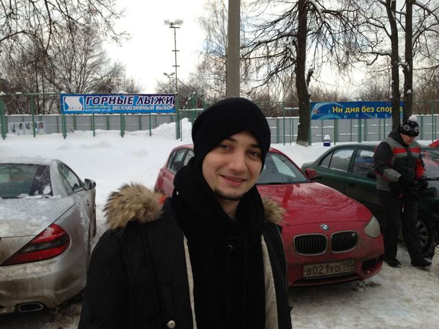 Стас Шуринс в Москве