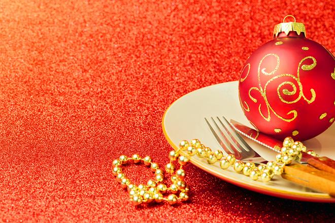 Новый год 2016: сервировка и оформление стола