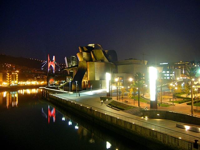 Достопримечательности Испании: Guggenheim Museum, Бильбао