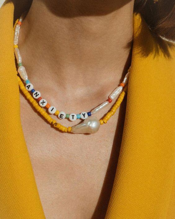 Трендовые ожерелья из бисера
