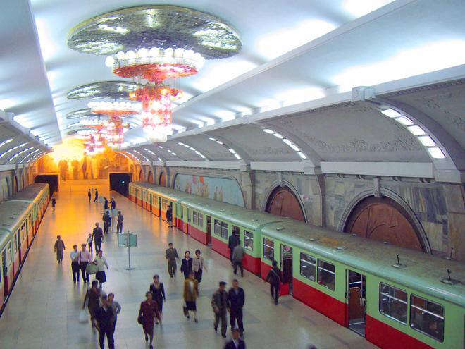 Самое красивое метро