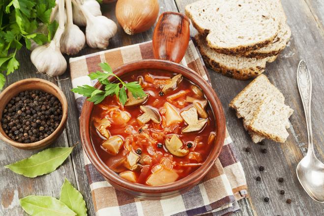 Великий пост украинские блюда