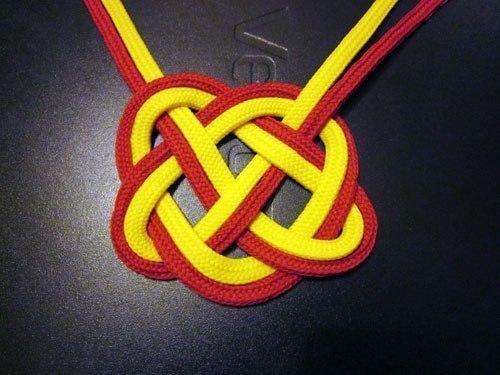 Красивый Кельтский узелок «сердце»