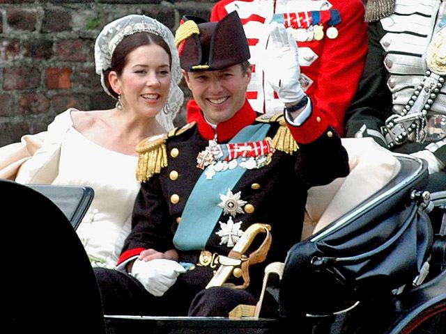 Принц Данії Фредерік і Мері Дональдсон