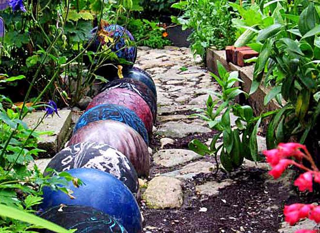 садовий бордюр