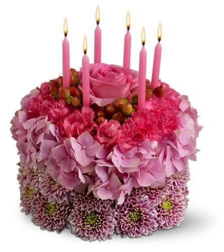 Этот цветочный торт для тебя!