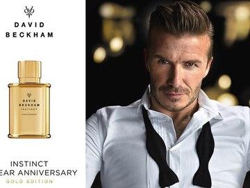 Дэвид Бекхэм совместно с Coty создал новый мужской парфюм