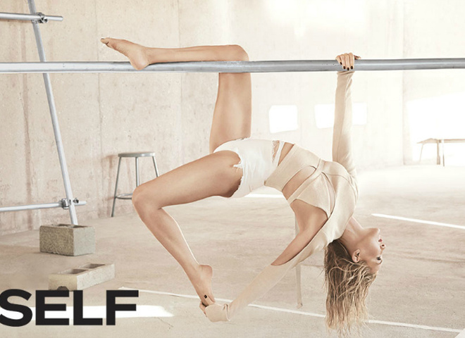 Кейт Хадсон для SELF Magazine