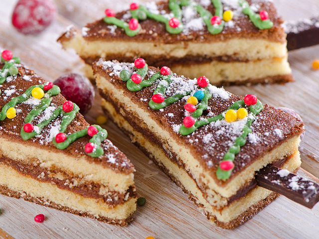 Торт на Новый год 2018: рецепт с фото