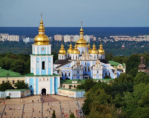 Церкви України: Михайлівський Золотоверхий монастир (Київ)
