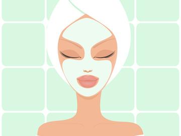 Отбеливающая маска для лица
