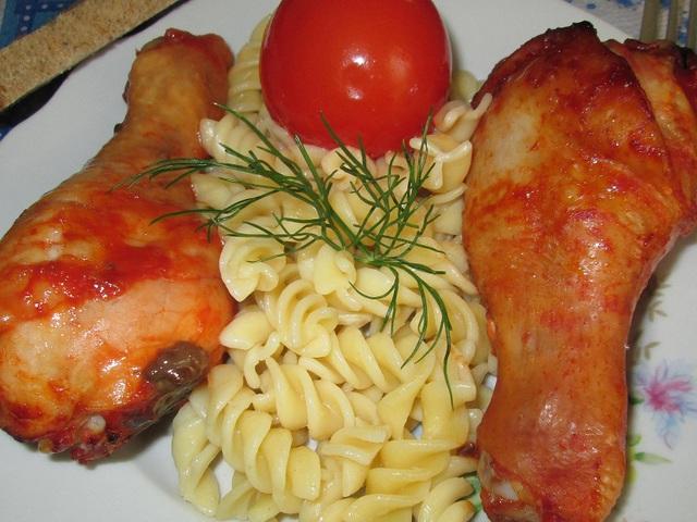 рецепты из голени курицы с фото