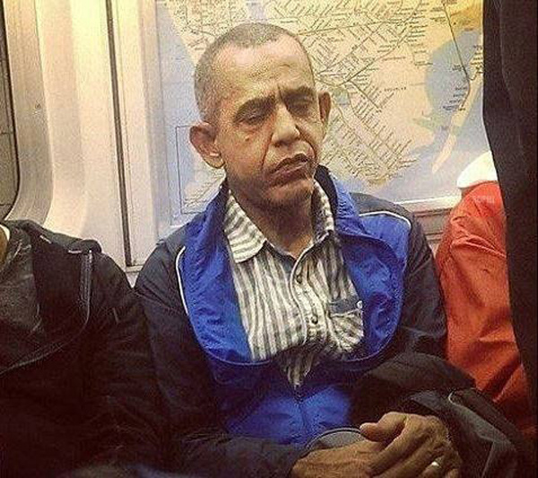 Где-то в параллельной галактике они тоже ездят на метро