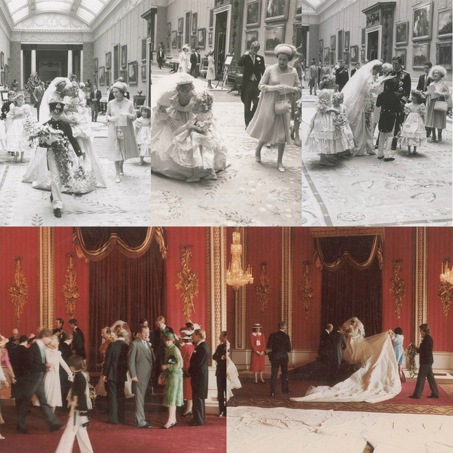 Ексклюзивні фотографії з весілля принцеси Діани