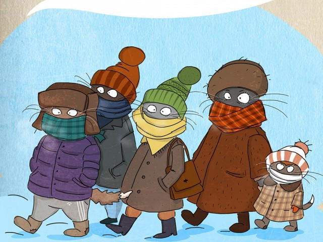 Смешные картинки про холодное лето понятно