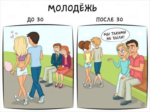 Жизнь до и после 30 лет
