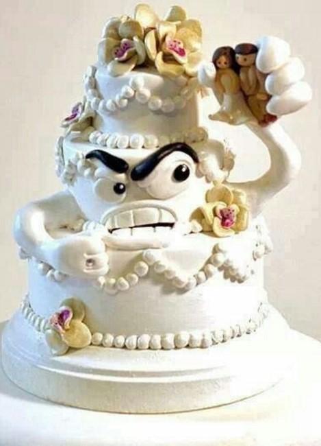 Креативные торты для разводов