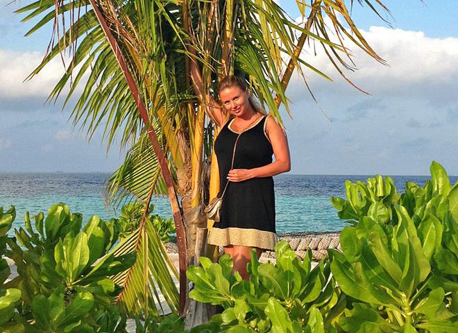 Відпочинок на Мальдівах Анни Семенович