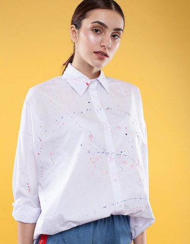 Белая рубашка Follow by Anns, 999 грн