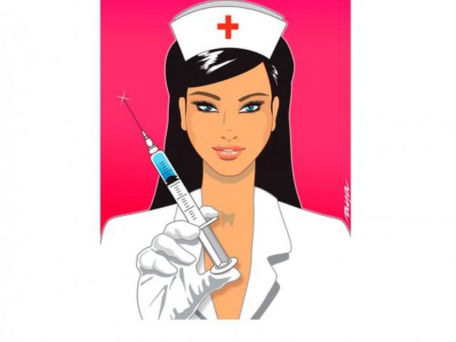 Медсестры смешных картинках