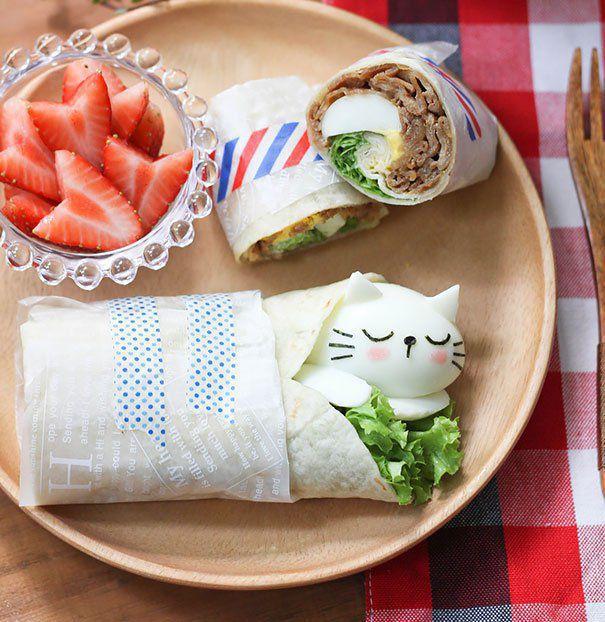 Мимимишные завтраки из риса