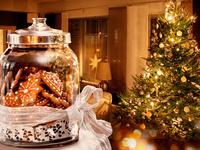 Вкусные обои на Рождество 2015