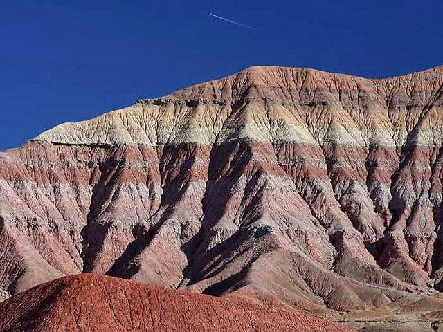 Самые необычные пустыни: цветная пустыня, США