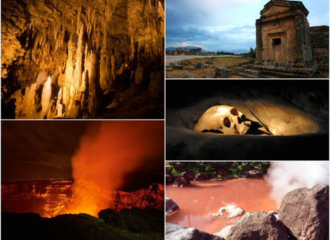 5 жутких мест, которые ведут в преисподнюю