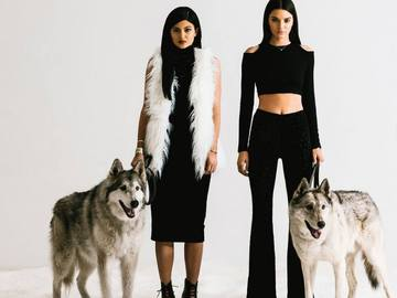 Праздничная коллекция одежды Kendall&Kylie