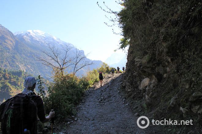 Трек в Непалі