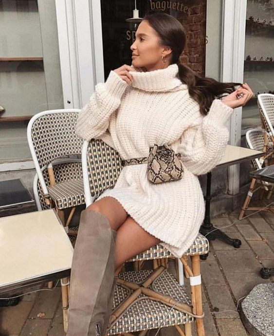 Платья, которые можно носить зимой