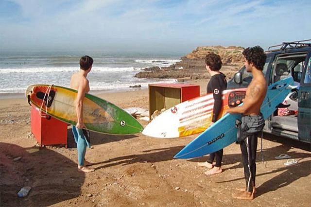 Серфінг в Марокко: табір серферів